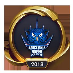 Worlds 2018 SuperMassive eSports (Gold) Emote