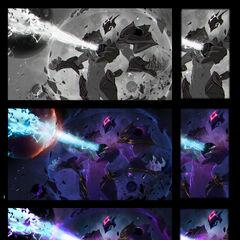 Dark Star Xerath Splash Concept 3 (by Riot Contracted Artist <a rel=