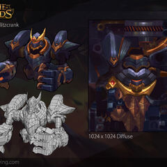 Lancer Rogue Blitzcrank Model 2 (by Riot Artist <a rel=