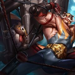 Masked Poro in the El Tigre Braum Splash