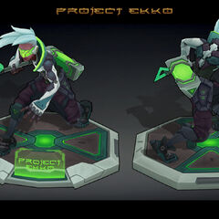 PROJECT: Ekko Model 2 (by Riot Artist <a href=