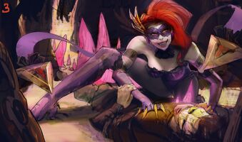 Evelynn Update Maskeraden- Splash Konzept 02
