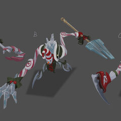Dark Candy Fiddlesticks Update Concept 1 (by Riot Artist <a rel=