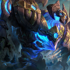 Enchanted Galio Update Splash Concept 2 (by Riot Artist <a href=