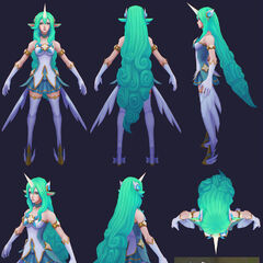 Star Guardian Soraka Model 6 (by Riot Artist <a href=