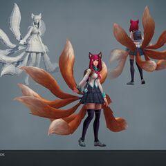 Academy Ahri Model (by Riot Artists <a href=