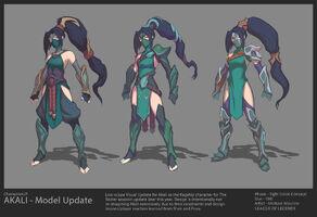 Akali Update concept 09
