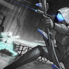 PROJECT: Ashe Splash Concept (by Riot Artist <a href=