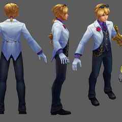 Debonair Ezreal Update Model