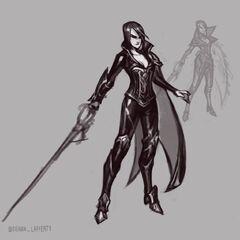 Nightraven Fiora Update Concept 3 (by Riot Artist <a href=
