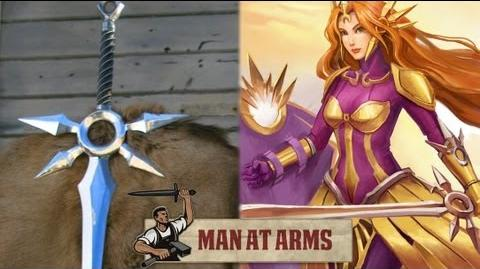Leona's Zenith Blade (League of Legends) - MAN AT ARMS