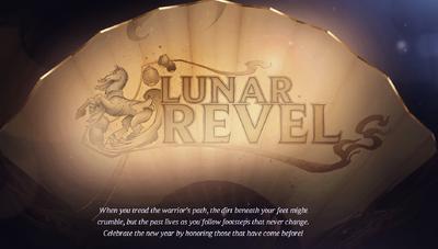 Lunar Revel Fan