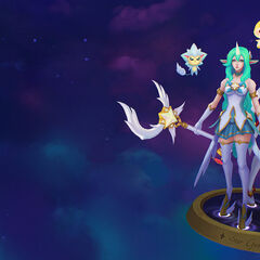 Star Guardian Soraka and Miss Fortune Model 4 (by Riot Artist <a href=