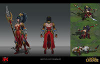 Nidalee WarringKingdoms Concept 01
