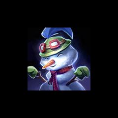 Snowman Teemo