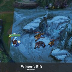 Summoner's Rift Update Winter Concept 6 (by Riot Artist <a rel=
