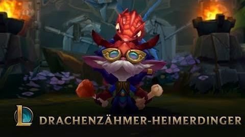 Aus dem Nest Trailer für legendären Skin Drachenzähmer-Heimerdinger – League of Legends