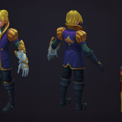 Ace of Spades Ezreal Update Model 1 (By Riot Artist <a rel=