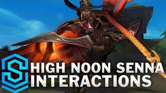 High Noon Senna Special Interactions