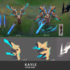 Aether Wing Kayle Update Concept (by Riot Artists <a href=