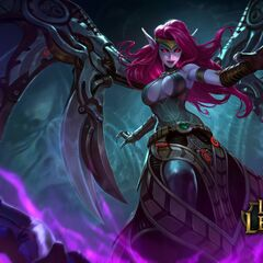 Blade Mistress Morgana Splash Concept 3 (by Riot Employed Artists <a rel=