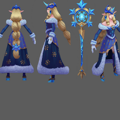 Winter Wonder Soraka Model 1 (by Riot Artist <a href=