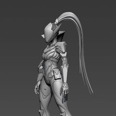 PROJECT: Vayne The Hunt Model 3 (by Riot Artist <a rel=