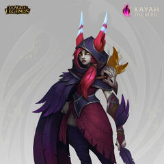 Xayah Concept 5 (by Riot Artist <a href=