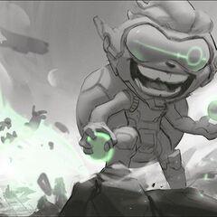 Odyssey Ziggs Splash Concept 2 (by Riot Artist <a href=