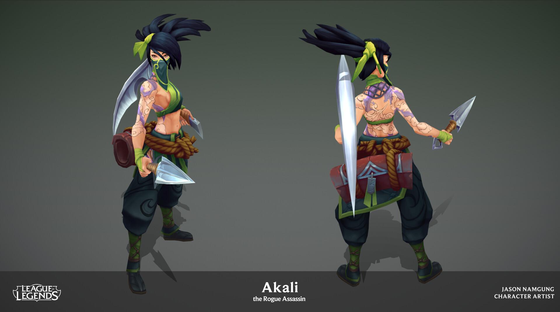 Akali Update Model 02
