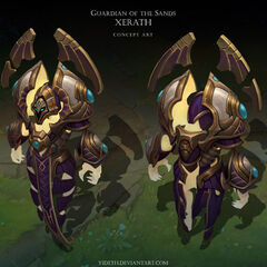 Guardian of the Sands Xerath Concept (by Riot Artist <a href=