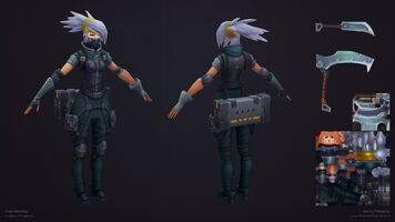 Akali Update Silberzahn- model 02