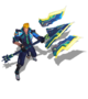 Jayce BattleAcademia (Sapphire)