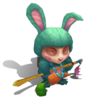Teemo Cottontail (Turquoise)