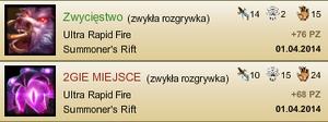 Ultra Rapid Fire - zwycięstwo i porażka