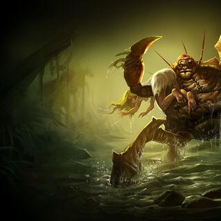 Pierwszy portret Wielkiego Wrogiego Krabgota