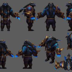 Thunder Lord Volibear Update Model
