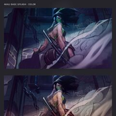 Akali Update Splash Concept 2 (by Riot Artist <a href=