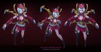 Elise BloodMoon Model 01