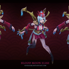 Blood Moon Elise Model 1 (by Riot Artist <a href=
