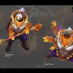 God Staff Jax Model 2 (by Riot Artist <a href=