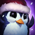 Lustiger Pinguin Beschwörersymbol
