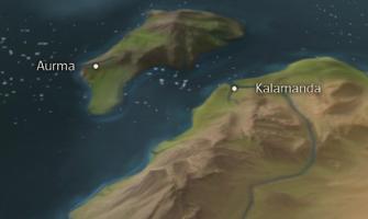 Map Kalamanda-0