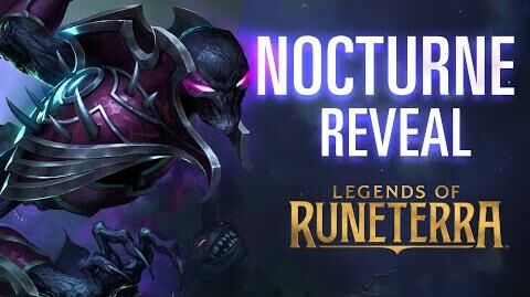 Nocturne Reveal New Champion - Legends of Runeterra