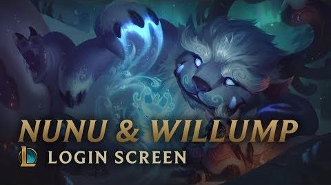 Nunu i Willump - ekran logowania