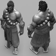 Spirit Guard Udyr Cinematic Model 7 (by Riot Artist <a rel=