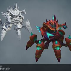 Giant Enemy Crabgot Update Model 1 (by Riot Artists <a href=