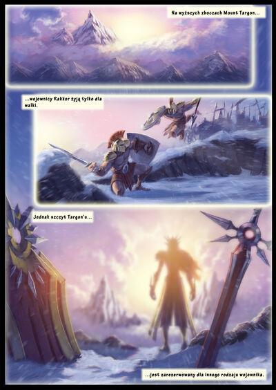 Zwiastun bohatera – Leona, Świetlista Obrończyni