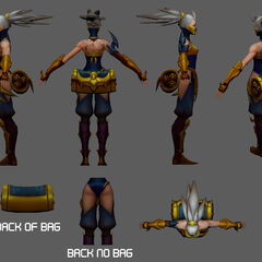 Stinger Akali Update Model 2 (by Riot Artists <a href=