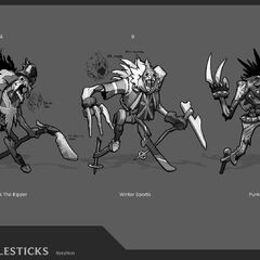 Union Jack Fiddlesticks Concept 2 (by Riot Artist <a rel=